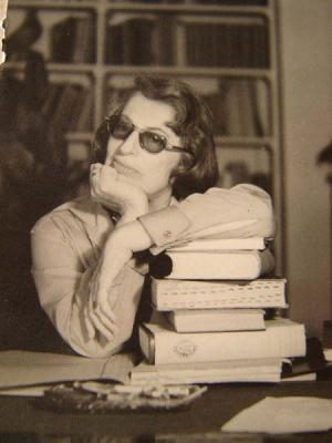 Silvina Ocampo, taken by Adolfo Bioy Casares in 1959